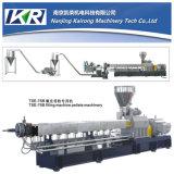 Tse50 PBT。 MDPEカラーMasterbatchケーブルの造粒機機械か対ねじ押出機の機械またはプラスチック餌のMasterbatchの微粒の押出機