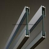 Profil en aluminium anodisé d'anticorrosion pour le guichet en aluminium/porte