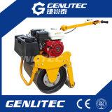 Hidráulico-Conduzir o compressor dobro do rolo de estrada do cilindro 600kg