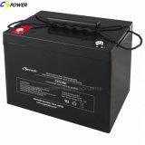 LEITUNGSKABEL-Säure-Batterie der UPS-Batterie-12V75ah Solarfür Sonnenkollektor