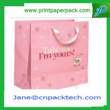 Kundenspezifische Form sackt bunte Träger-Einkaufstasche ein