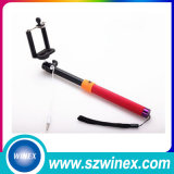 Colorful  Selfie  Stick  with  Cable  для iPhone и Android телефона