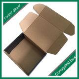 Casella impaccante di carta pieghevole postale per i regali