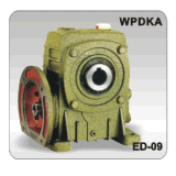 Riduttore di velocità della scatola ingranaggi della vite senza fine di Wpdka 120