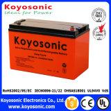 Bateria recarregável acidificada ao chumbo do gel da alta qualidade 12V 18ah, bateria solar