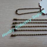 All'ingrosso per la catena Bronze della modifica del branello del metallo di colore 13cm-15cm/PC 2.4mm di 2.4mm