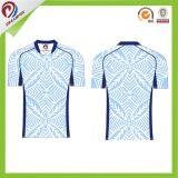 Jerseys del rugbi con las ilustraciones del OEM, camisa del rugbi de la impresión de la sublimación