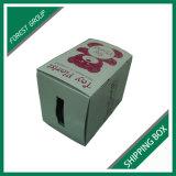 Лоснистая белая Corrugated коробка коробки для перевозкы груза и упаковывать оптом