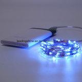 Mini LEIDENE van Lampen Draad 50 van het Koper de Batterij In werking gestelde Lichten van de Fee van het Koord LEDs