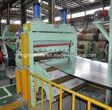 Vollautomatische Stahlplatte, die Ausschnitt-Zeile Maschine aufschlitzt