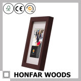 "5 "" X7 ""ブラウンホーム装飾のための木製映像の写真フレーム"