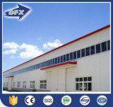 Projeto de edifício de aço pré-fabricado personalizado do armazém