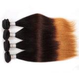100%年のミンクの毛の編むバージンのブラジルの人間の毛髪