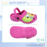 Últimas barato Preço Bulk Sale Anti-Skid Printed Kids Cartoon Pink EVA Garden Clogs
