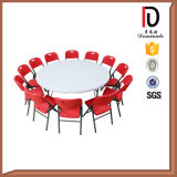 長い合板の折る会議の宴会の長方形の円卓会議