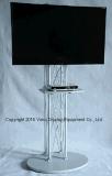 """Stand de l'armature TV de crémaillères d'étalage de salon/plasma à 65 produits 17 d'exposition """" """" ou stand de télévision d'affichage à cristaux liquides/présentoir d'armature/argent"""