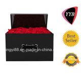 Fabricante acrílico de Shenzhen da caixa de Rosa da qualidade superior