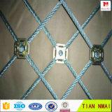 Treillis métallique de corde en métal d'acier inoxydable de maille de protection de pente