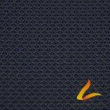 スポーツ・ウェアの適性(LTT-HD636-1#)のためのポリエステルスパンデックスのLycra編まれた伸縮性があるファブリック