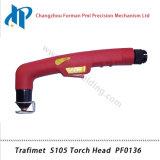 Сварочный огонь факела плазмы воздуха головки факела PF0136 Trafimet S105