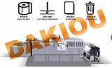 Máquina que corta con tintas llena de alta velocidad del papel de Dakiou que elimina