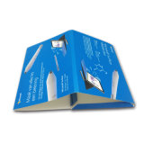 Rectángulo de papel de empaquetado de la venta de Matt de la producción de encargo caliente de la laminación