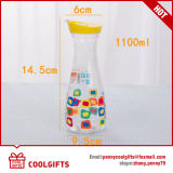 Popular Pet Plastic Clear Juice Bottle, Water Drinking Bottle, Wine Bottle