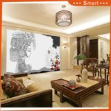 La plus haute qualité Dernier design Art Style 3D Mural Painting