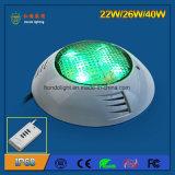 IP68 22W, das LED-Swimmingpool-Licht hängt