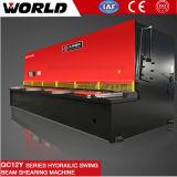 Machine de découpage en acier hydraulique de QC12y
