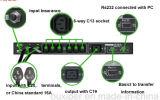 Commutateur automatique d'intérieur commercial industriel de transfert de Msts-25A 110VAC pour le double bloc d'alimentation