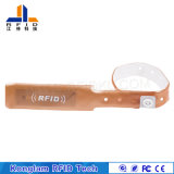 Bracelet universel de PVC d'IDENTIFICATION RF d'impression offset pour l'hôpital