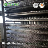 Nourriture de congélation de congélation spiralée flexible d'industrie de bande de conveyeur de spirale de Rod