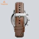 Relógio de pulso de aço masculino 72074 do esporte dos homens de quartzo da nadada do pulso de disparo impermeável luxuoso da tâmara do tipo
