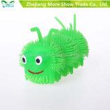 Iluminação Soft Plastic Spike Caterpillar Ball Kid Toy