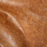 Couro louco de 2017 falsos do cavalo do plutônio dos bens macios quentes da venda para a mobília das sapatas (E6087)