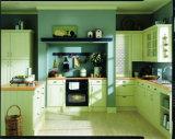 Conception de cabinet de cuisine en bois massif traditionnel de style américain