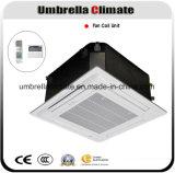 Unidad de sistema de climatización de cuatro terminales de techo cassette Fan Coil