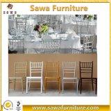 Оптовой используемые вычурой белые стулы Chiavari свадебного банкета для сбывания