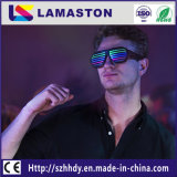 Light-Emitting copos, taças de Shutter Shades Som música activado USB Recharageable Flashing partido para o Natal Halloween