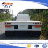 工場ユーティリティ3車軸半60トンの低いベッドのトレーラー