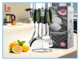 Conjunto de los utensilios de cocina del acero inoxidable de 7 PCS