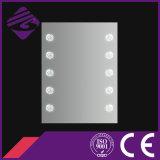 Rectángulo decorativo Jnh183 que ilumina el espejo de la plata del cuarto de baño del LED para el hotel