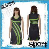 Девушки высокого качества Китая дешевые изготовленный на заказ линия платья Netball