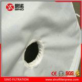 Prensa de filtro redonda de la mezcla de la placa 800 para el tratamiento de aguas residuales