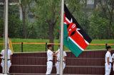 Su ordinazione impermeabilizzare e modello no. della bandiera nazionale del Kenia della bandiera nazionale di Sunproof: NF-065
