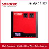 Inversor solar de la onda sinusoidal modificada 1-2kVA con el regulador solar de PWM