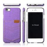 Mobile-Deckel und Zubehör, PC-PU-lederner Telefon-Kasten für iPhone 7 Fall mit Kreditkarte-Schlitz