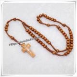 Nouveau style Populaire européens perles de métal Religieux Rosaire catholique (IO-cr358)