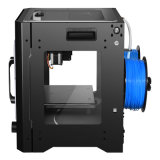 Deposito fuso che modella (FDM) la stampante differente di formato 3D di colore rosso di tecnologia Using l'ABS, PLA, PC, materiale di PVA